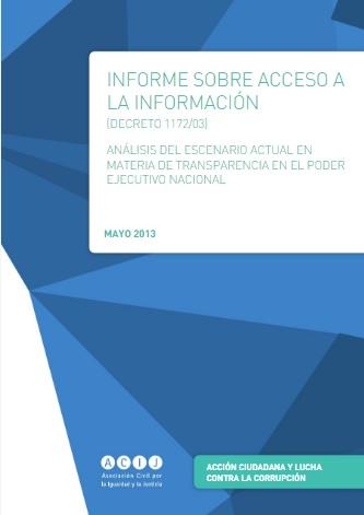 El Acceso a la Información en Argentina